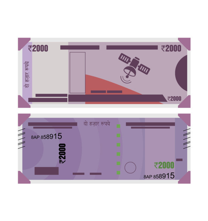 Rs. 2000 Indian Currency Note